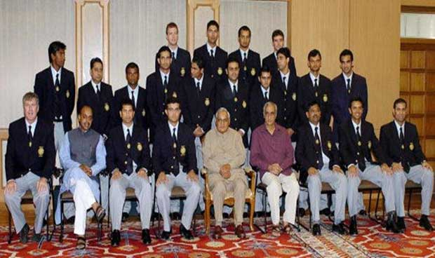 India Cricket Team & PM
