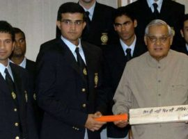 Vajpayee & Indian Cricket Team