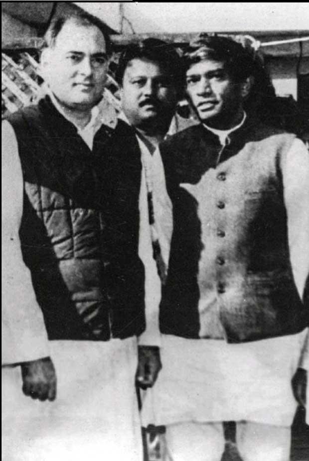 Ajit-Jogi & Rajiv Gandhi