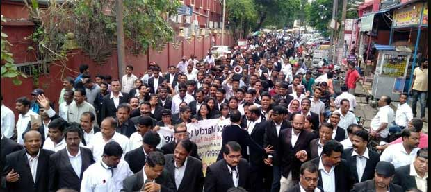 Cuttack Advocates Protest